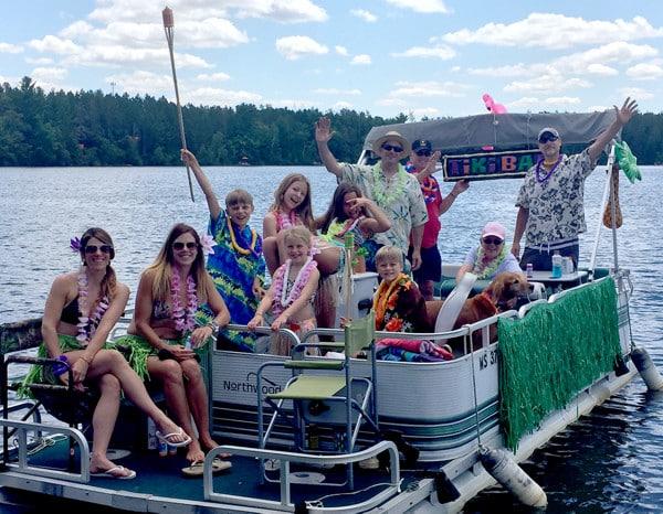 tabor lake boat parade